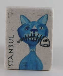 İstanbul Mavi Kedi Magnet
