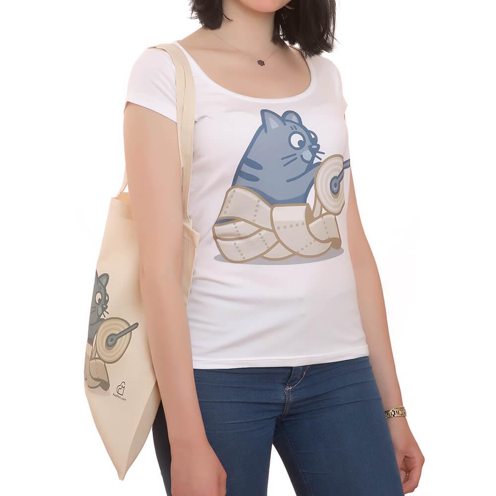 Rulocu Kedili T-Shirt