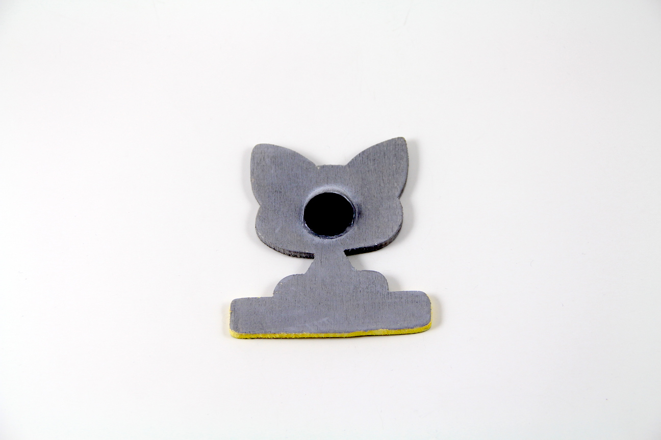 I Love My Cat Kedili El Boyaması Ahşap Magnet
